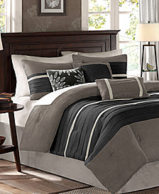 Madison Park Palmer Microsuede 7-Pc. Full Comforter Set
