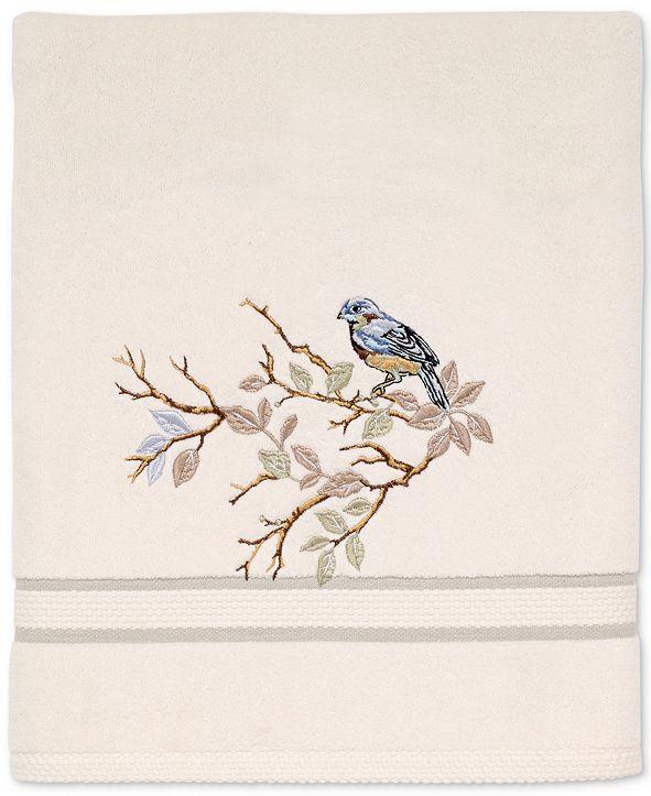 Avanti Love Nest Cotton Embroidered Fingertip Towel