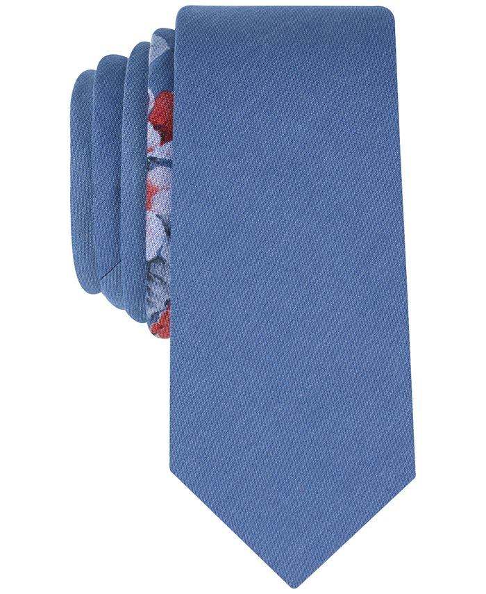 Bar III - Men's Wanica Floral Skinny Tie, Created for Macy's