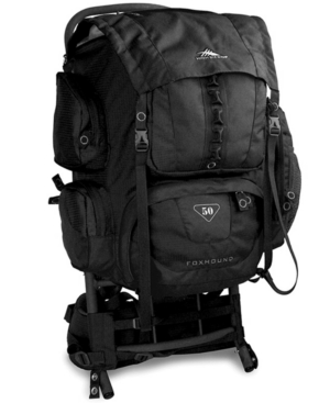 High Sierra Backpack, 50 Liter Foxhound Frame Pack