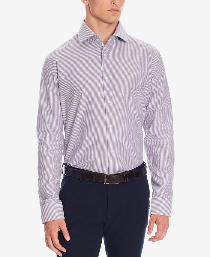 Hugo Boss - Men's Regular/Classic-Fit Striped Oxford Cotton Dress Shirt