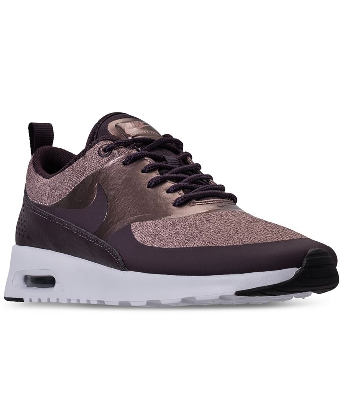 Cadera contar etiqueta  Nike Women's Air Max Thea Knit Casual Sneakers from Finish Line & Reviews -  Finish Line Athletic Sneakers - Shoes - Macy's
