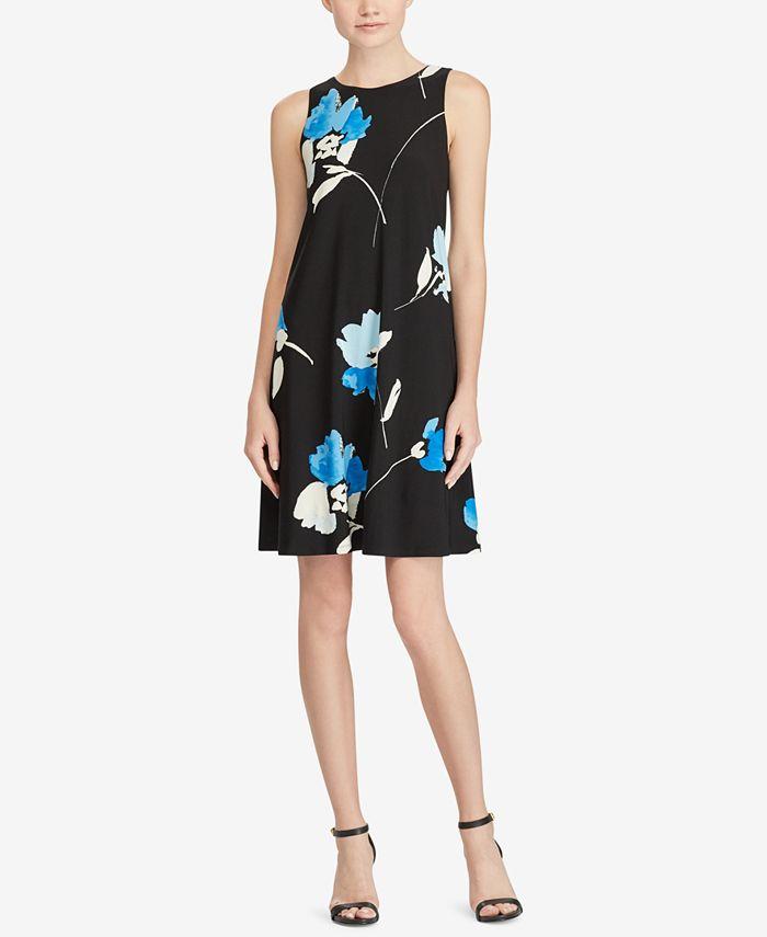 Lauren Ralph Lauren - Floral-Print A-Line Dress