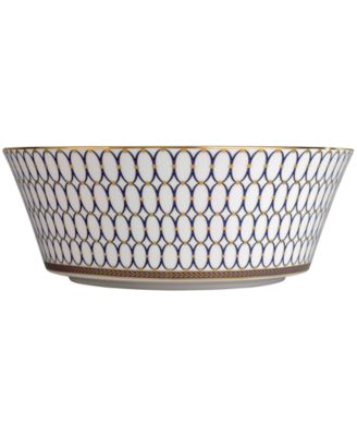 "Wedgwood Renaissance Gold 10"" Serving Bowl"