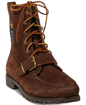 Ranger Polo Bear Suede Boots