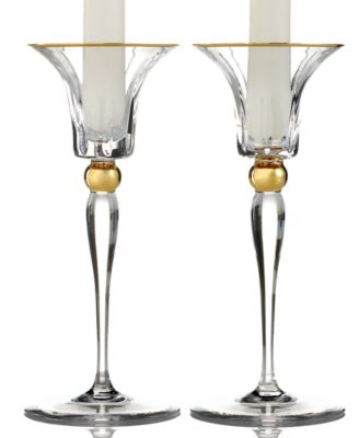Trump Home Candle Holders, Set of 2 Tall Elmsford Candlesticks