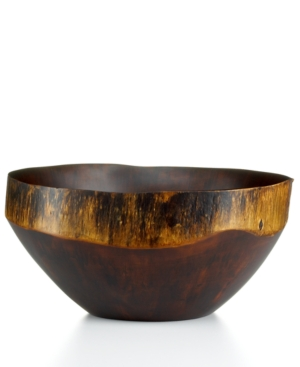 heart of haiti serveware, einstein rustic large bowl
