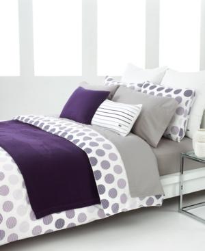 Lacoste Bedding, Sevan King Duvet Cover Set Bedding