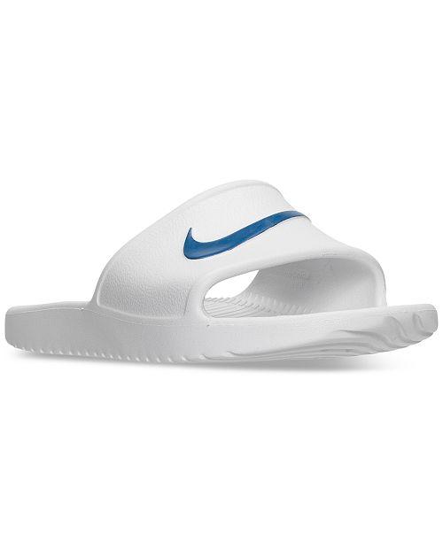 Nike Men's Kawa Slide Sandals from Finish Line & Reviews ...