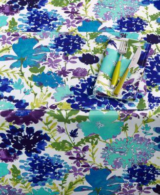 """Garden Floral 60"""" x 102"""" Tablecloth"""