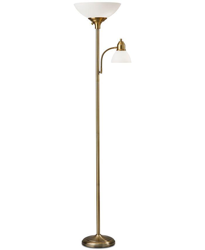 Adesso - Glenn 300w Combo Floor Lamp
