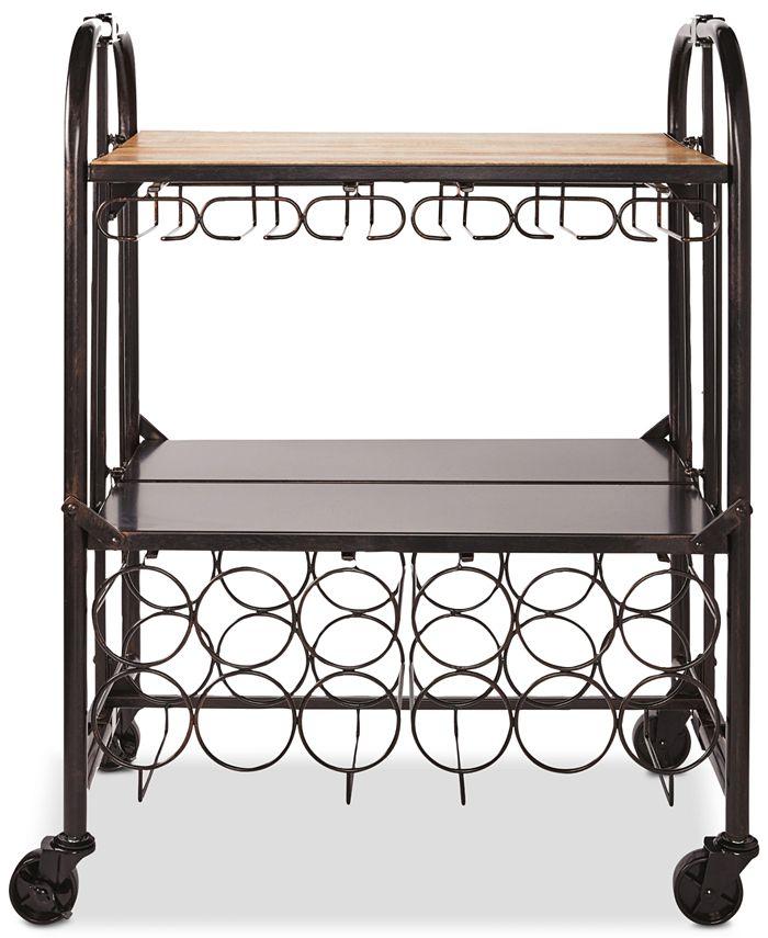 Mikasa - Gourmet Basics Hadamar Folding Bar Cart