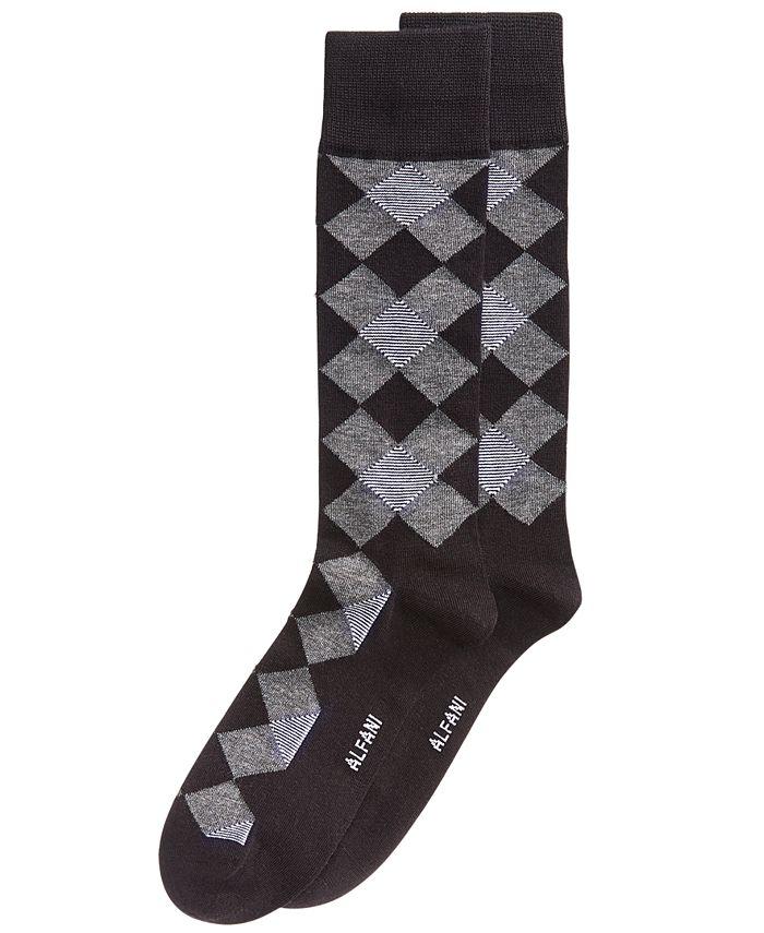 Alfani - Men's Diamond Socks