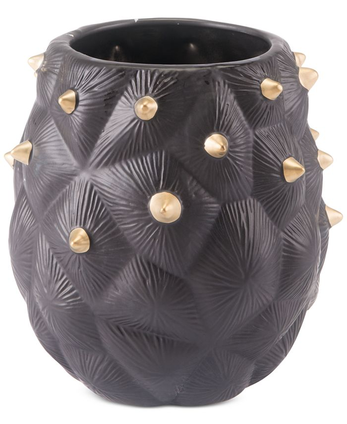 Zuo - Black Cactus Small Vase