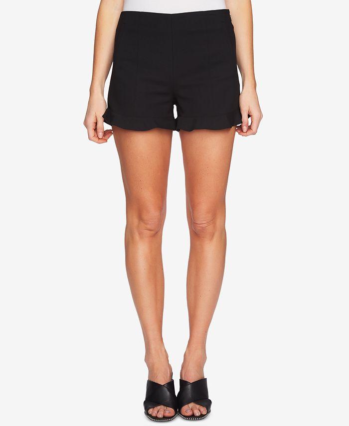 1.STATE - Ruffle-Hem Welt-Pocket Shorts