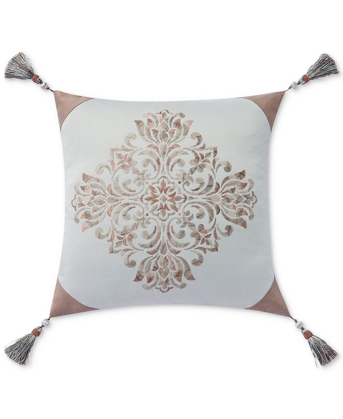 Waterford Gwyneth 18 Square Decorative Pillow Reviews Decorative Throw Pillows Bed Bath Macy S