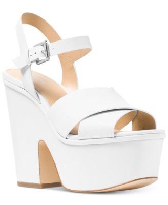 Michael Kors Divia Wedge Sandals