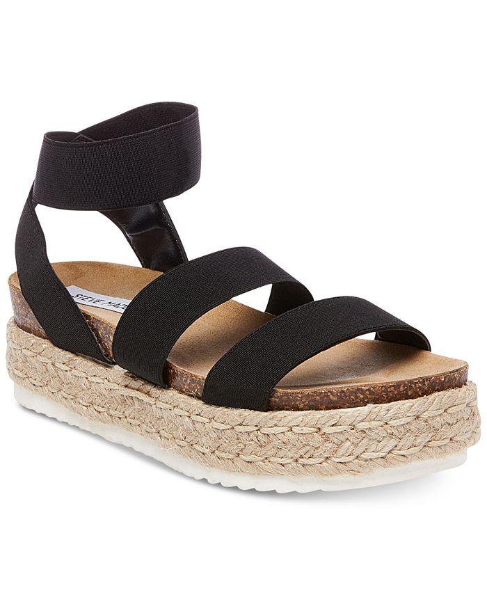 Steve Madden - Women's Kimmie Flatform Espadrille Sandals