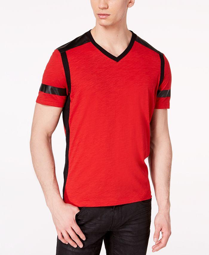 INC International Concepts - Men's Colorblocked T-Shirt