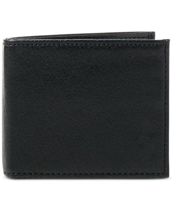 Polo Ralph Lauren - Wallet, Pebbled Bifold Wallet