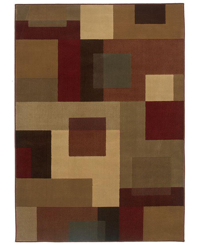 """Oriental Weavers - Area Rug, Amelia 2261Y Red 5' x 7' 7"""""""