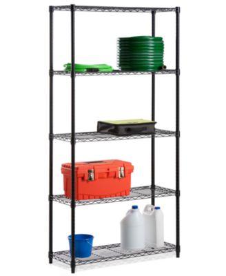 """Honey Can Do Storage Shelf, 5 Tier 72"""""""