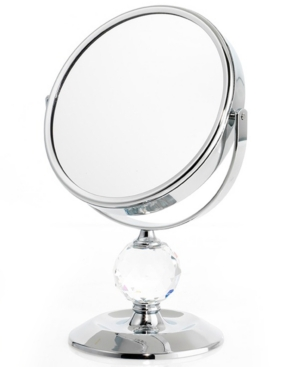 Upper Canada Soap Mirrors, Single Crystal Ball Mirror 10x