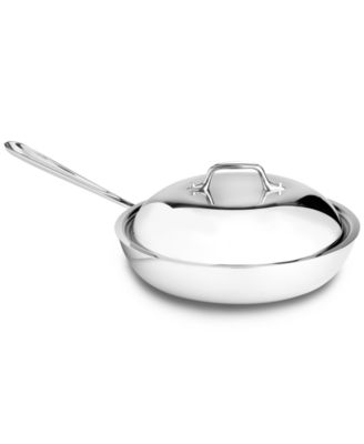 "All-Clad Stainless Steel 11"" Covered French Skillet"