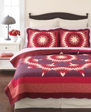 Martha Stewart Collection Bedding, Star Blaze Quilted Standard Sham Bedding