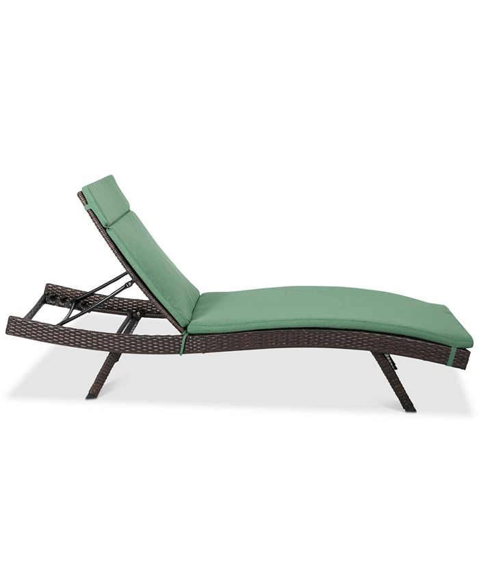 Noble House - Hawkins Outdoor Chaise Lounge (Set Of 2), Quick Ship