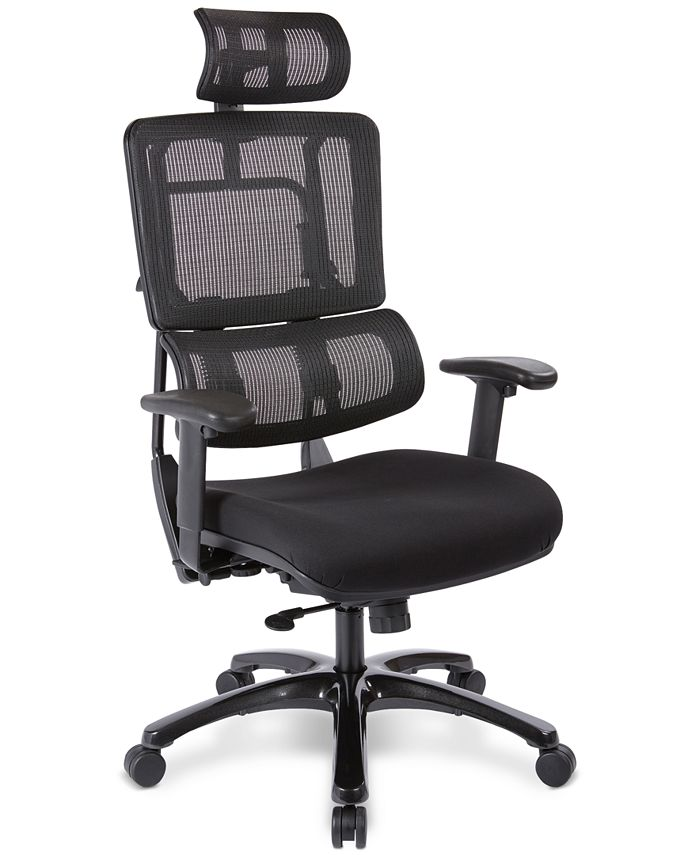 Office Star - Adkin Office Chair with Headrest, Quick Ship