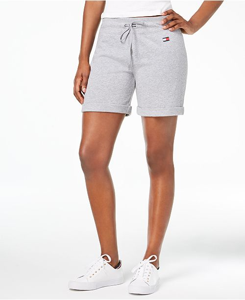Amplificare commemorativo Coordinata  Tommy Hilfiger Drawstring Shorts & Reviews - Shorts - Women - Macy's