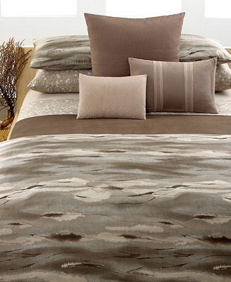 Closeout calvin klein home bedding tanzania collection Calvin klein bedding