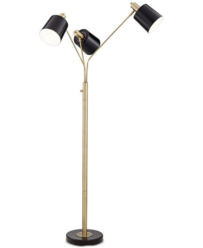 Pacific Coast - New York Studio Three-Light Floor Lamp
