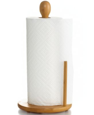 Lipper International Paper Towel Holder, Bamboo