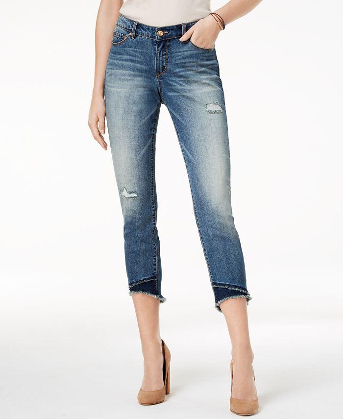 Vintage America - Embroidered Skinny Jeans