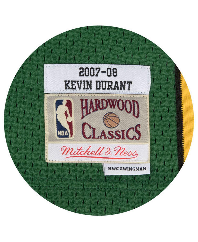Mitchell & Ness Men's Kevin Durant Seattle SuperSonics Hardwood Classic Swingman Jersey & Reviews - Sports Fan Shop By Lids - Men - Macy's