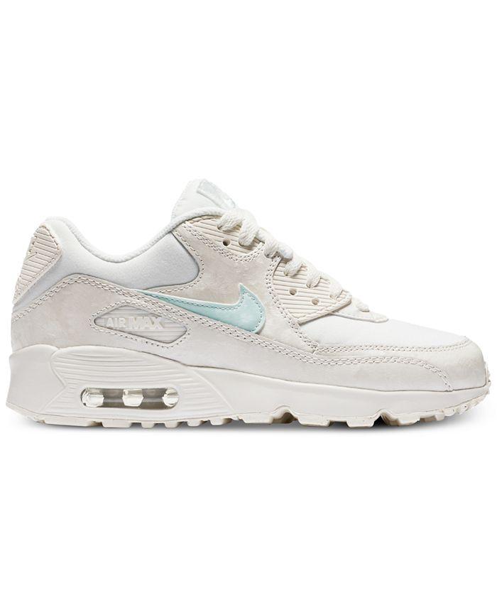 Nike Big Girls' Air Max 90 Mesh Running Sneakers from Finish Line ...