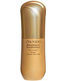 Shiseido Benefiance NutriPerfect Eye Serum, 0.53 oz.