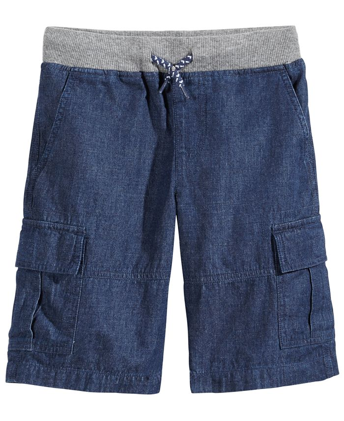 Epic Threads - Chambray Cotton Shorts, Little Boys