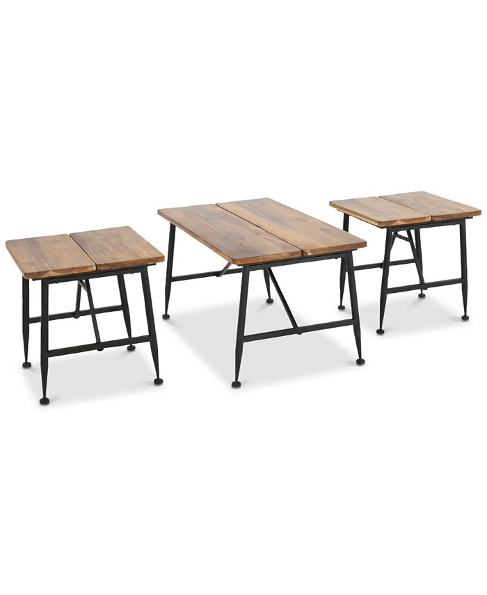 Noble House - Karlson 3-Pc. Table Set, Quick Ship
