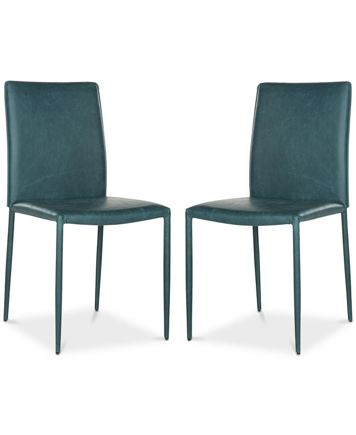 Safavieh - Nolyn Dining Chair (Set of 2), Quick Ship