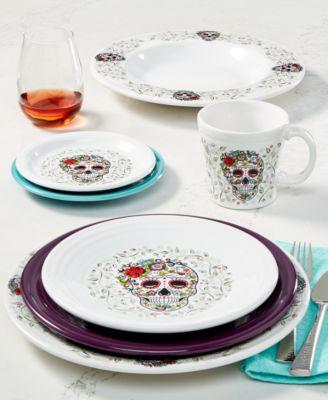 Skull and Vine Sugar Tapered Mug