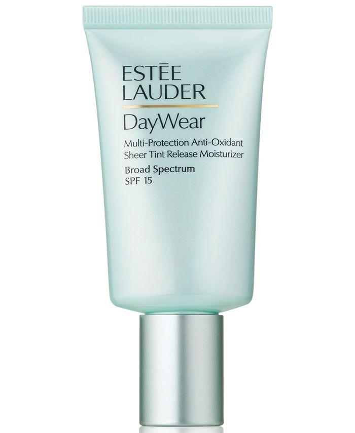 Estée Lauder Daywear Sheer Tint Release Advanced Multi Protection Anti Oxidant Moisturizer Broad Spectrum Spf 15 1 7 Oz Reviews Makeup Beauty Macy S