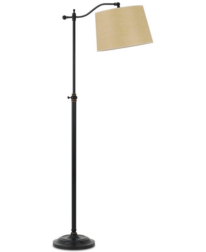 Cal Lighting - 100W Wilmington Down Bridge Floor Lamp