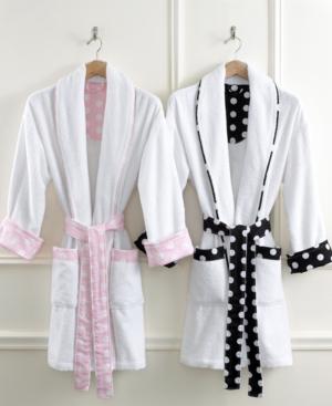 Martha Stewart Collection Robe, Terry Dot Bath Robe