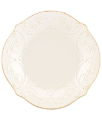 Lenox Dinnerware, French Perle White Tidbit Plate
