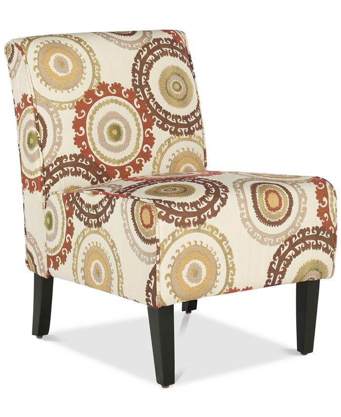 Safavieh - Jardon Accent Chair, Quick Ship