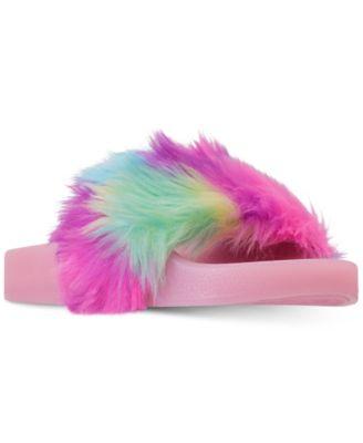 Girls' SoftLite Light-Up Slide Sandals