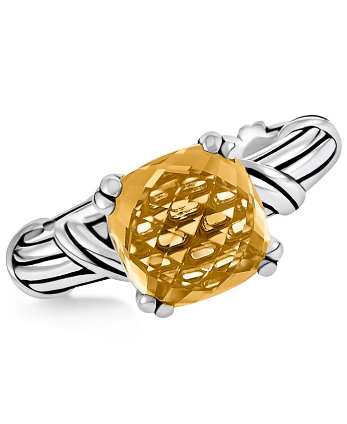 Peter Thomas Roth - Citrine Ring (4 ct. t.w.) in Sterling Silver